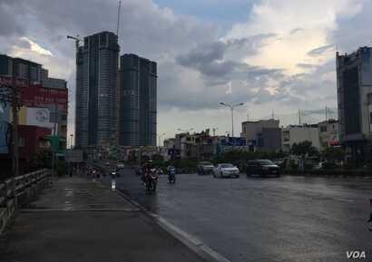 Improvements to infrastructure in Vietnam, like Ho Chi Minh City's roads and bridges, helped move it up the trade rankings.