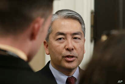 Assemblyman Al Muratsuchi, a Los Angeles-area Democrat, discusses the audit of the University of California president's office,…
