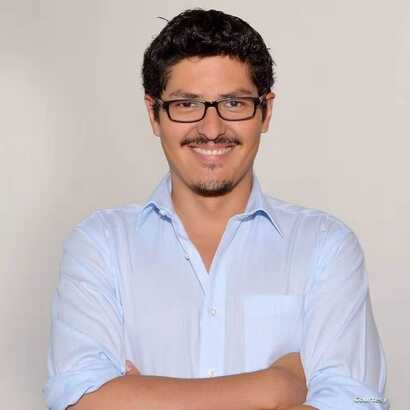 Augusto Ignacio Araya Heredia from Chile, 34, Ph.D student of international relations at Central China Normal University