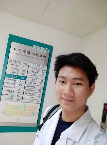 Badeephak Kaosala, a Thai medical student at Tongji Medical College left Wuhan, the center of the coronavirus outbreak in easter