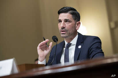 Acting Secretary of Homeland Security Chad Wolf testifies before a House Committee on Homeland Security hearing on the…