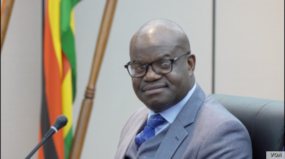 """On March 9, 2020,  Ministry of Information Secretary Nick Mangwana released a statement saying ... """"To this government, every Zimbabwean counts."""" (Columbus Mavhunga/VOA)"""