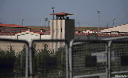 Silivri Prison complex is pictured in Silivri near Istanbul, Turkey, June 24, 2019. REUTERS/Huseyin Aldemir - RC1D23495C00