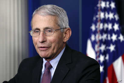 FILE - Dr. Anthony Fauci