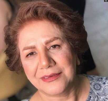 Undated photo of Iranian rights activist Shahla Entesari, who told VOA Persian in an April 28, 2020 interview that the coronavirus pandemic has fueled domestic violence against women in Iran.