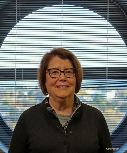 Patricia McBride, physicist with Fermilab, and deputy spokesperson of the CMS Collaboration in Geneva. (Courtesy Robert Gumm)
