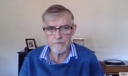 David Donnoly is one of the few white farmers based in Bulawayo, the country's second-largest city, who were not affected by Zimbabwe's land reform, August 6, 2020. (Via SKYPE Columbus Mavhunga/VOA)