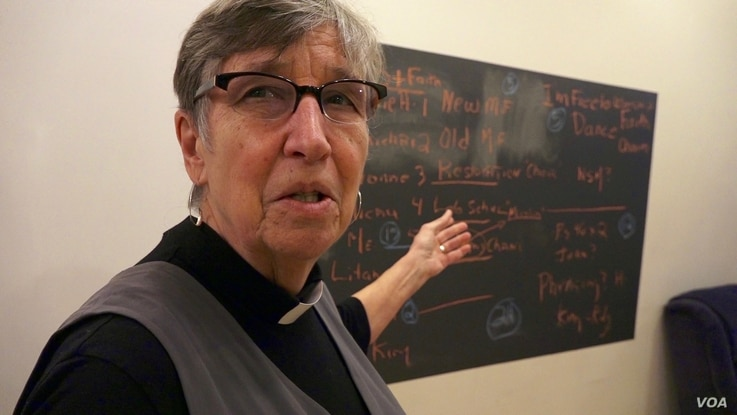 The Rev. Donna Schaper, senior minister at Judson Memorial Church in New York and co-founder of the New Sanctuary Coalition of New York City, spends her days helping New York City's undocumented immigrant community.