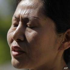Geng He, wife of Chinese dissident Gao Zhisheng, says she has not spoken to her husband since April, 2010. He disappeared after visiting his in-laws in far western China.