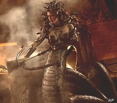 """Medusa from a scene in """"Clash of the Titans"""""""