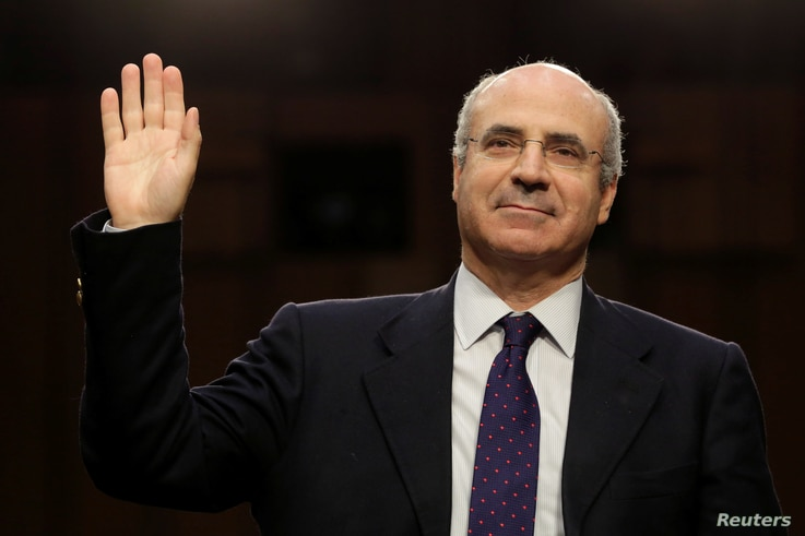 Hermitage Capital CEO Bill Browder is sworn in before a continuation of Senate Judiciary Committee hearing on alleged Russian meddling in the 2016 presidential election on Capitol Hill in Washington,  July 27, 2017.