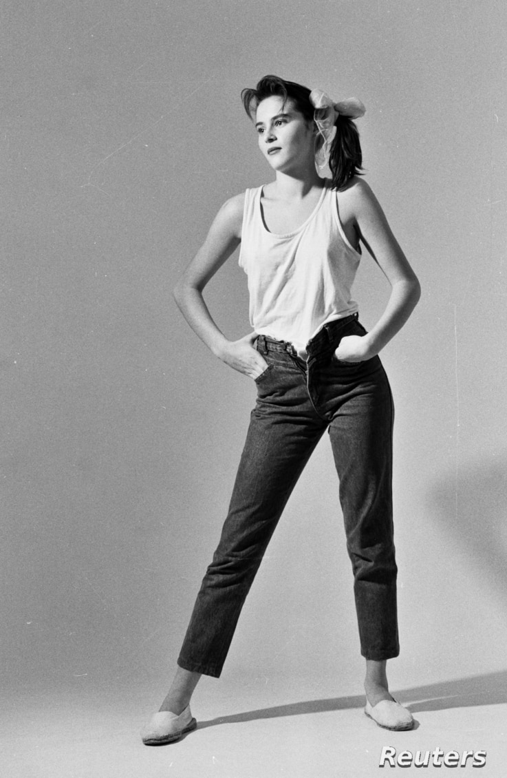 FILE - Photos of 17-year-old Melanija Knavs, taken by photographer Stane Jerko in Ljubljana, Slovenia, in 1987, launched the modeling career of the woman who later would become Melania (Knauss) Trump.