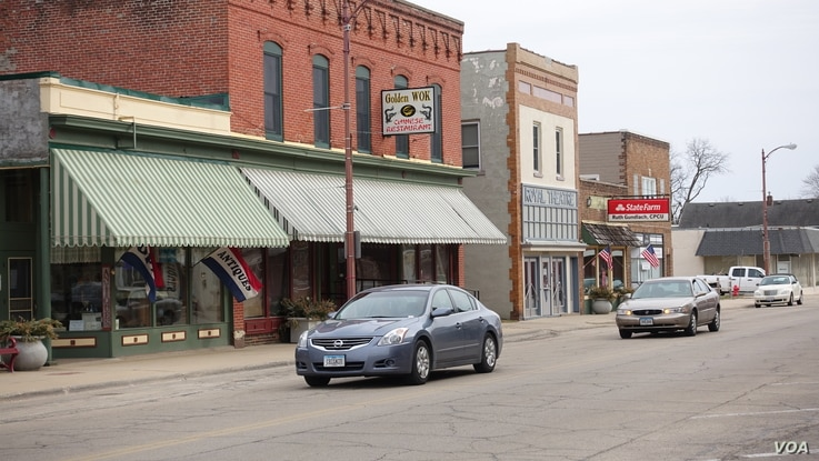 In rural Illinois, including towns like Fulton on the western edge of Whiteside County, there are common sense ideas held by people across the political spectrum, says one resident, Linda Ebersole.