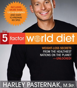 """In his new book, """"The 5-Factor World Diet"""", fitness expert Harley Pasternak ranks the world's top 10 healthiest nations."""