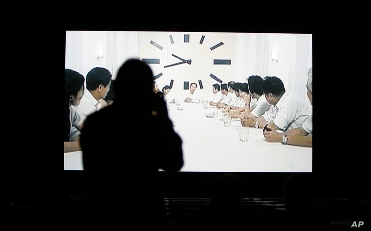 """Christian Marclay's """"The Clock"""" is both the ultimate movie, and an artwork you can set your watch by."""
