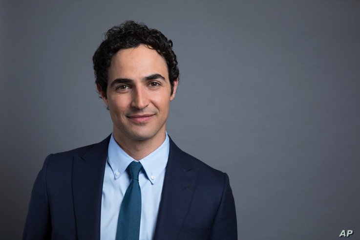 "Zac Posen poses for a photo to promote his new documentary, ""House of Z,"" in New York, July 31, 2017."