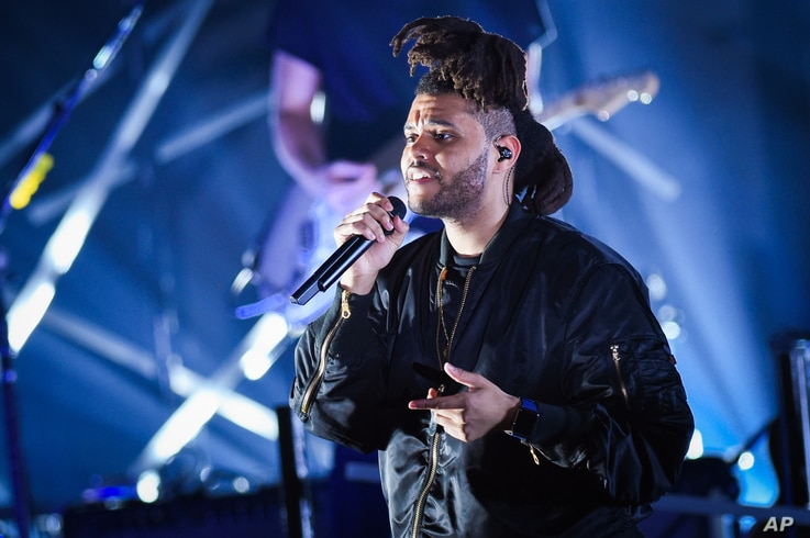 Recording artist The Weeknd performs at the 2015 Billboard Hot 100 Music Festival at Nikon at Jones Beach Theater on Aug. 22, 2015, in Wantagh, N.Y.
