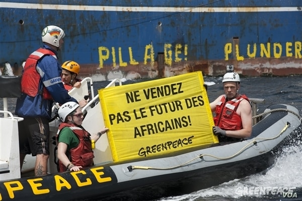 Greenpeace reveal new cases of bad fishing practices in West Africa