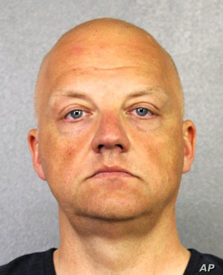 FILE - German Volkswagen executive Oliver Schmidt is shown in this January 2017 photo provided by the Broward County Sheriff's Office.