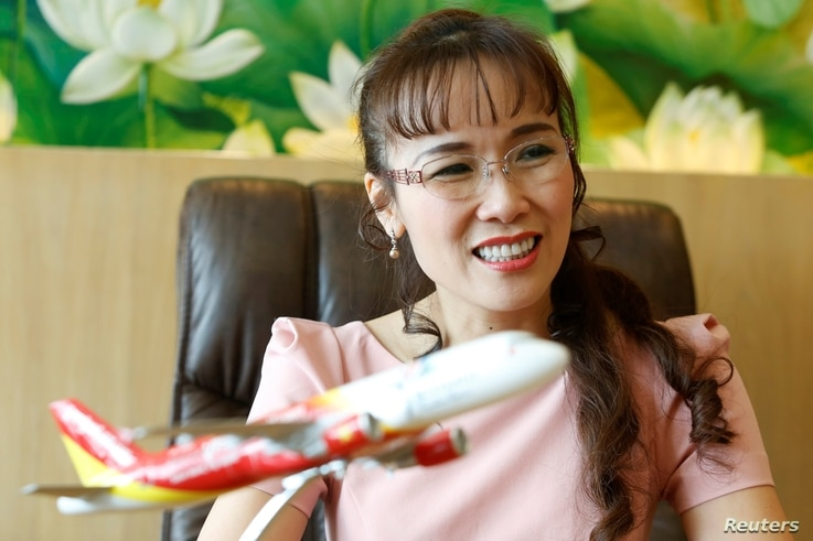 VietJet Air CEO Nguyen Thi Phuong Thao