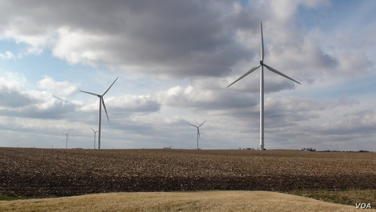 Iowa is one of the nation's top wind-power states. But even though he fears the Trump administration's emphasis on fossil fuel development could affect his industry and perhaps his job, Dustin Andrews seems to think there is little he can do abou...