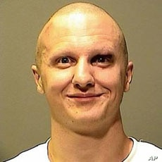 Jared Lee Loughner, the suspect in the attempted assassination of U.S. Representative Gabrielle Giffords, is shown in this Pima County Sheriff's Forensic Unit handout photograph released, 10 Jan 2011