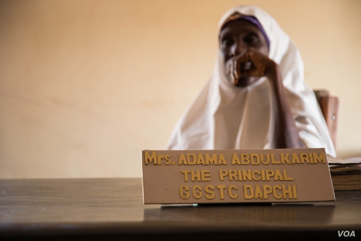 Adama Abdulkarim, the principal of the Dapchi Girls School said she's frustrated because some of the parents do not want their daughters to resume classes. She said the government should intervene to calm fears.