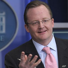 White House Press Secretary Robert Gibbs speaks during the daily briefing at the White House in Washington, Tuesday, Dec.  22, 2009.
