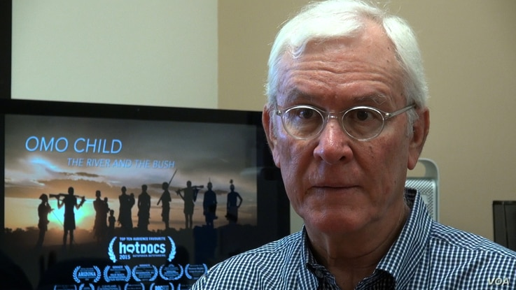 """John Rowe, producer and director of the documentary """"Omo Child: The River and the Bush,"""" which recounts the efforts of an Ethiopian man to end the tribal practice of """"mingi,"""" the killing of children regarded as cursed."""