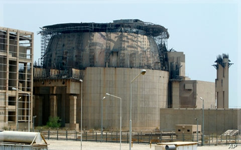 Iran's Bushehr nuclear power plant under construction (file photo)