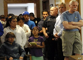 Standing room only in a Woodland City Council meeting