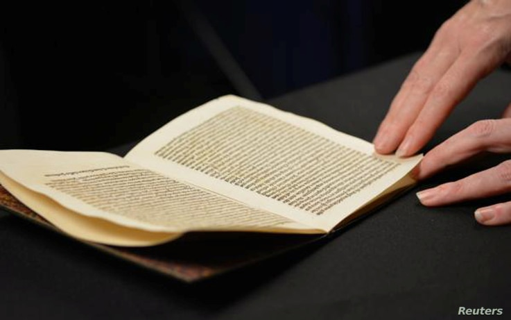 A book published in 1493 of a Latin translation by Leandro di Cosco of the letter by Christopher Columbus describing his discoveries in the Americas, which was stolen from the National Library of Catalonia in Barcelona and sold for approximately $1 m...