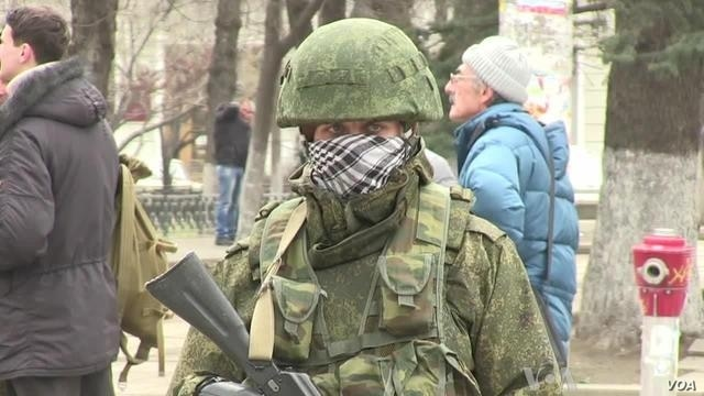 Who Are Those Armed Men in Crimea?