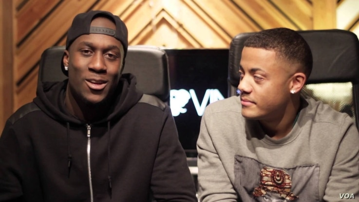 Afro-Norwegian rap duo Nico & Vinz