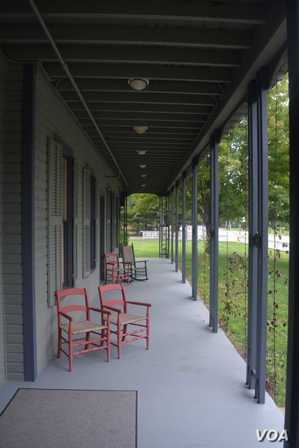 Today, the front porch of President Garfield's home serves as a gateway to the story of the Garfield family.