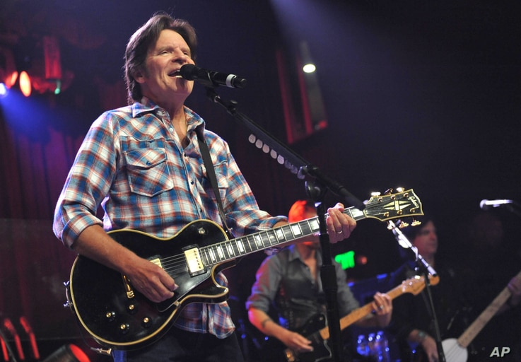 John Fogerty performs on his 68th birthday at the El Rey Theatre on Tuesday, May, 28, 2013 in Los Angeles.