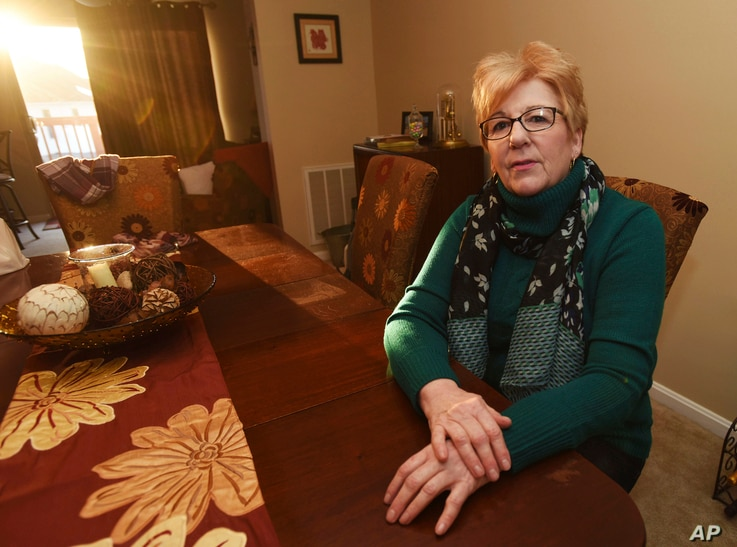 Wendy Kline, a hairstylist who voted for Donald Trump, poses for a photo in Harrisburg, Pa. Older Americans who buy their own health insurance would have been among the groups hardest hit under the Republican plan to overhaul the Affordable Care Act....