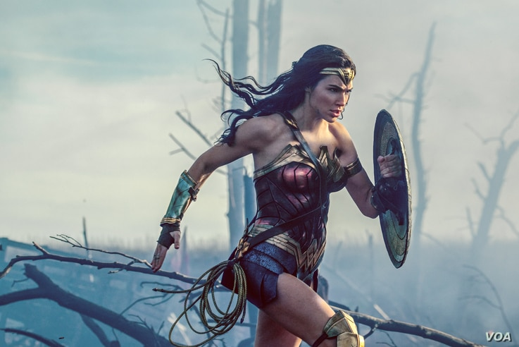 "Gal Gadot in ""Wonder Woman.""  (Courtesy Warner Bros. Pictures)"