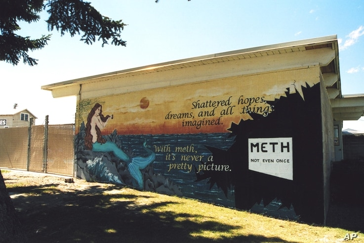 Young people's own anti-meth messages popped up in unexpected places all across Montana during the Paint the State campaign.