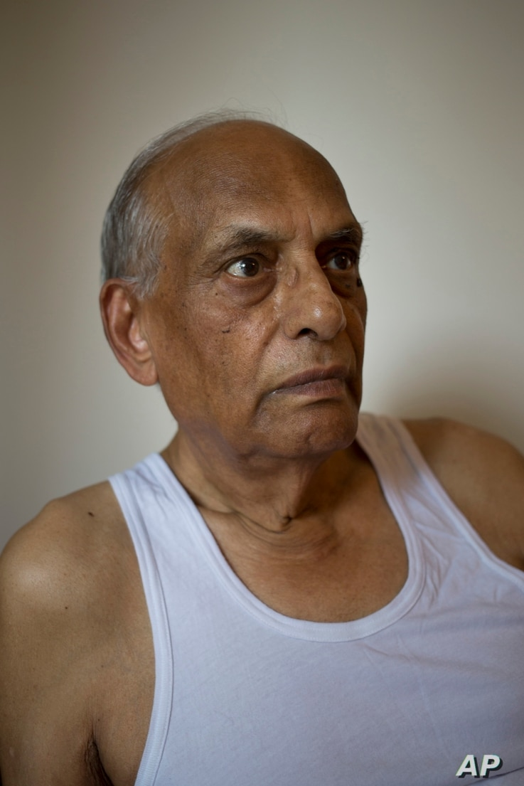 Sohinder Nath Chopra, 81, sits inside his house in New Delhi, India, Aug. 2, 2017. Chopra still has vivid dreams of his old village near Gujranwala in present day Pakistan. A village he and his Hindu family had to flee overnight, guarded by their Chr...