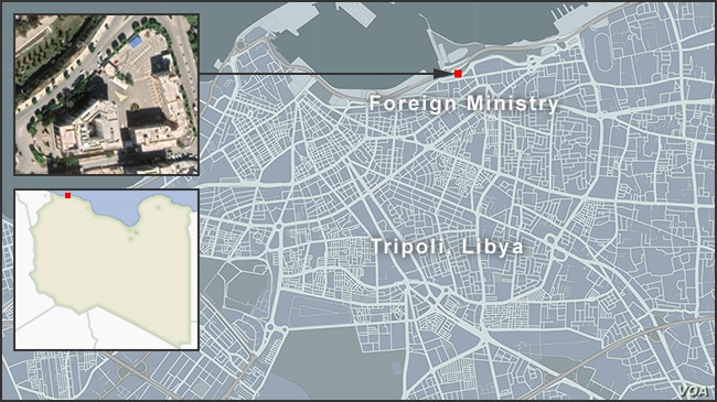Libyan Foreign Ministry, Tripoli