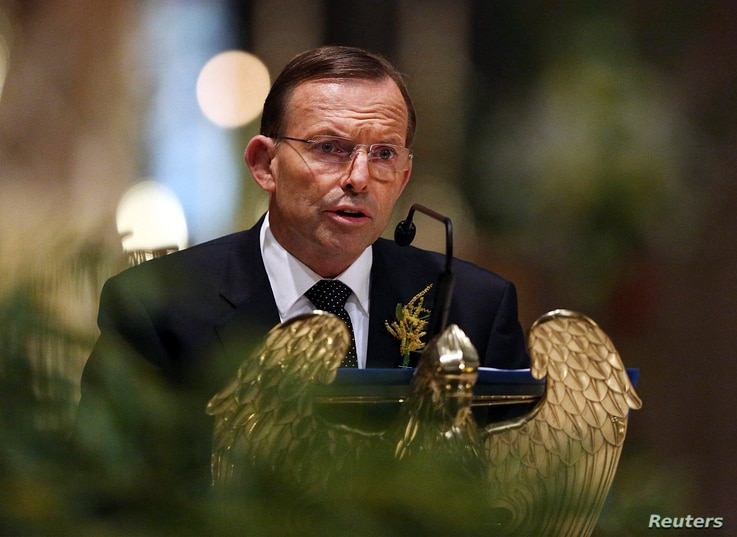 Australian Prime Minister Tony Abbott said those responsible for the crash would face justice.