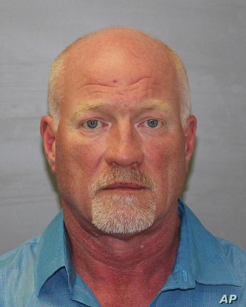 This photo provided by the New York State Police shows Gene Palmer, who was arrested on suspicion of having assisted the escape of two inmates from a Dannemora prison, June 24, 2015.