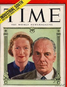 'Reader's Digest' founders, Wally and Lila Wallace, knew they and their magazine had made it when they were featured on a Time cover in 1951.