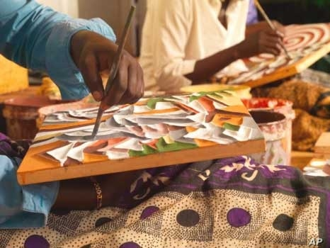 Rwandan students focus on the arts