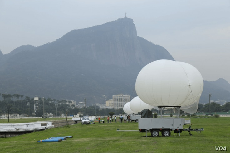 Altave, a Brazilian aerospace company specializing in lighter-than-air aerostats, such as balloons or blimps, holds an $8 million contract to supply the cameras and associated equipment for Olympic security in Rio.