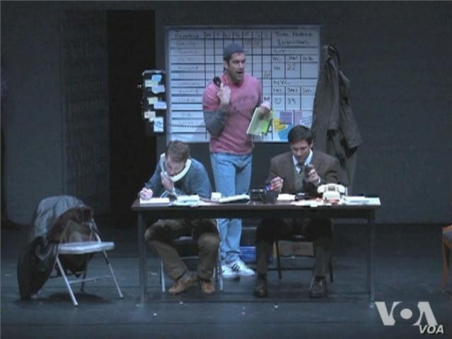 Play Recalls Early Denial of AIDS Crisis