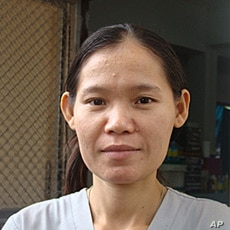 Eh Poh midwife Mae Tao Clinic