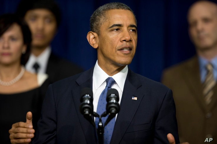 President Barack Obama speaks in the South Court Auditorium on the White House complex, Sept. 16, 2013.