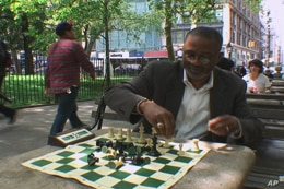 Michael Walters, who plays chess in the parks, welcomed the smoking ban